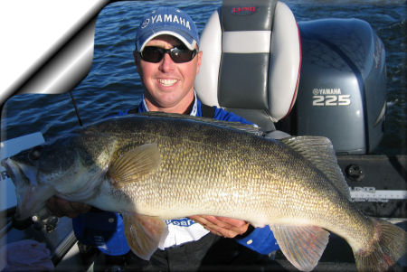 South dakota walleye fishing guide and hunting guides at mvgs for Walleye fishing in missouri