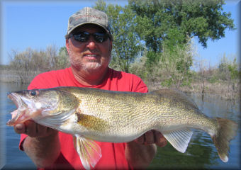 South dakota walleye fishing guide service and charters mvgs for South dakota walleye fishing